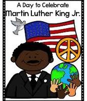 MLK Day--January 18th