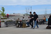 Springtime Lunch at CHS