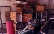 Cluttered garages