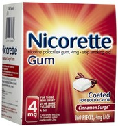 Nicotine gum and/or,