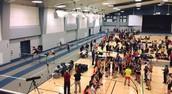 Run at the Rec: an Indoor Track Meet