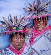 Watercolors by Verónica Rangel