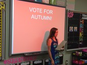 Vote for Autumn!