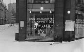 פוסטרים ושלטים אנטישמיים בנורבגיה תחת השלטון הנאצי