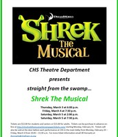 NEXT WEEK - Shrek @ CHS