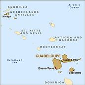 La Guadeloupe Map