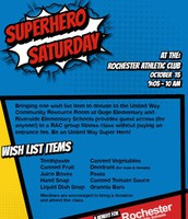 Superhero Saturday at the RAC