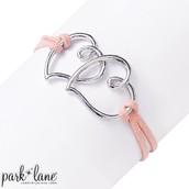 Two of Hearts Bracelet
