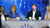 The View is a satirical show because it consists of a panel of people criticizing well known figures.