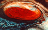 The Great Red Spot.