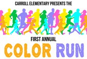 Color Run Shirt Sizes needed