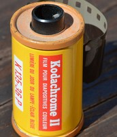 Rolled film canister