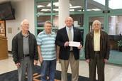 Lions Club Supports BGHS Renaissance Program