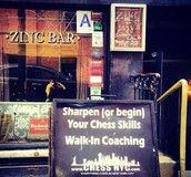 Village Chess @ Zinc Camp | Greenwich Village