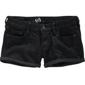 Los Pantalones Cortos Negro.