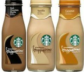 Starbucks bottled iced coffee!!