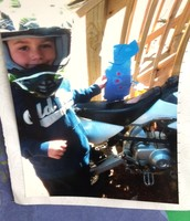 Motorcycle riding with Gavin