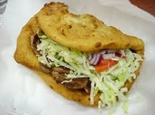 Frybread Sandwich