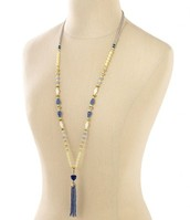 Azure Tassel Necklace - £30