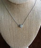 Glint CZ necklace