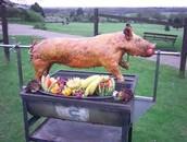 ROASTING THE PIG