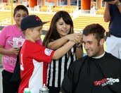 Player Will Bruin Getting Head Shaved for Bald is Beautiful