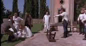 Don John convincing Claudio that Hero has been unfaithful