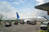 Airplane, Transporting Goods
