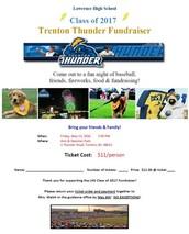 Class of 2017 Trenton Thunder Game
