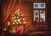 A FREE Christmas Picture and Picture Frame Workshop