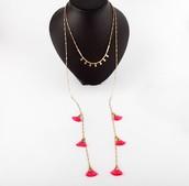 Eden Tassel Necklace