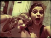 Selena and her besty!