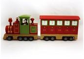 Christmas Steam Train With Snowman Advent Calendar
