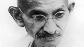 Gandhi studied law, advocated for the civil rights of Indians!
