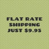 Flat Rate Shipping on Orders Under $80