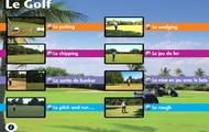 Le Golf - tutoriel vidéo : programme de 90 mn en 8 leçons avec entraînement et exercices, coach pour golfeur débutant ou confirmé - en Français