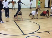 Fun Push Up Target Game