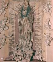 Retablo of San Benito: Annunciation
