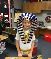 Grant as King Tut