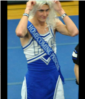 "2014 Mock Homecoming Queen ""Miss Foxy Knoxy"""