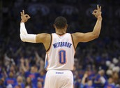NBA Star Russel Westbrook