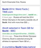 Sochi : Home