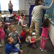Holiday Pictionary in Kindergarten!