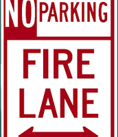 Let's stay away from the fire lane