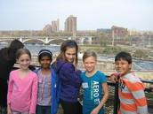 Overlooking the Mississippi from Mill City Museum