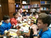 Author lunch