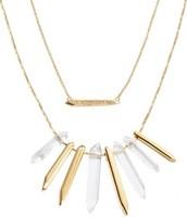 Rebel Cluster - Gold Necklace $30   SOLD