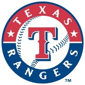 My favorite team is the Texas rangers!
