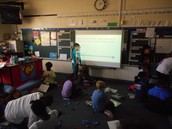 use of a story problem and then to the manipulatives to solve the problem in Rachel Grochowski's class