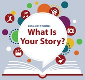 """""""What's Your Story?"""" is the 2016-2017 theme."""